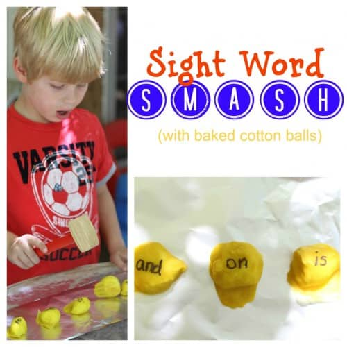 Sight Word Smash Sight Word Activities for Kids