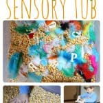 Thanksgiving Sensory Tub 150x150 Making Letters in Cranberry Sauce