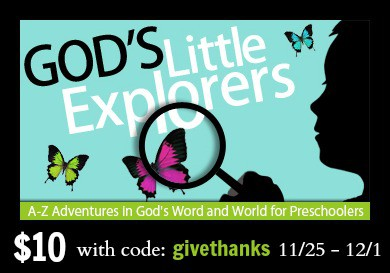 godslittleexplorers1 Black Friday Deals