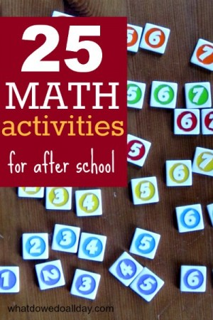 math-activities-for-after-school