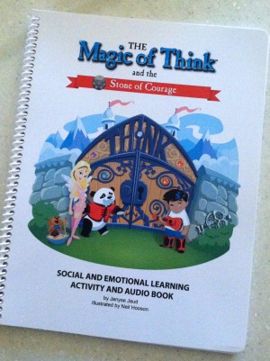 photo 300x401 The Magic of Think:  Social and Emotional Learning Activity and Audio Book (Product Review)