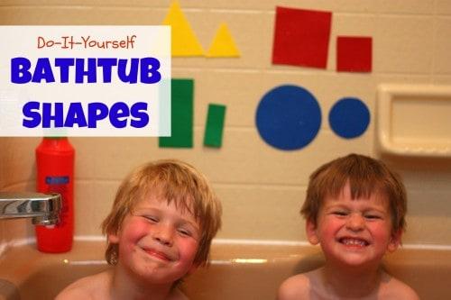 DIY Bathtub Shapes