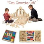 50% off Select Melissa & Doug Toys on Amazon Today Only (December 4th)