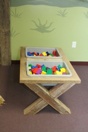 IMG 4902 300x450 DIY Sensory Table that looks like a Manger