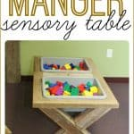 Make your own sensory table that looks like a manger 150x150 Puffy Snowflakes