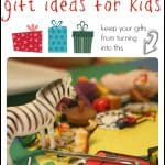 No-Clutter Gift Ideas for Kids