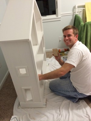 IMG 3816 300x400 DIY Dollhouse Bookcase
