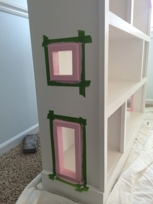 IMG 3824 300x400 DIY Dollhouse Bookcase
