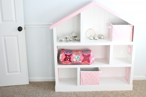 IMG 5381 500x333 DIY Dollhouse Bookcase