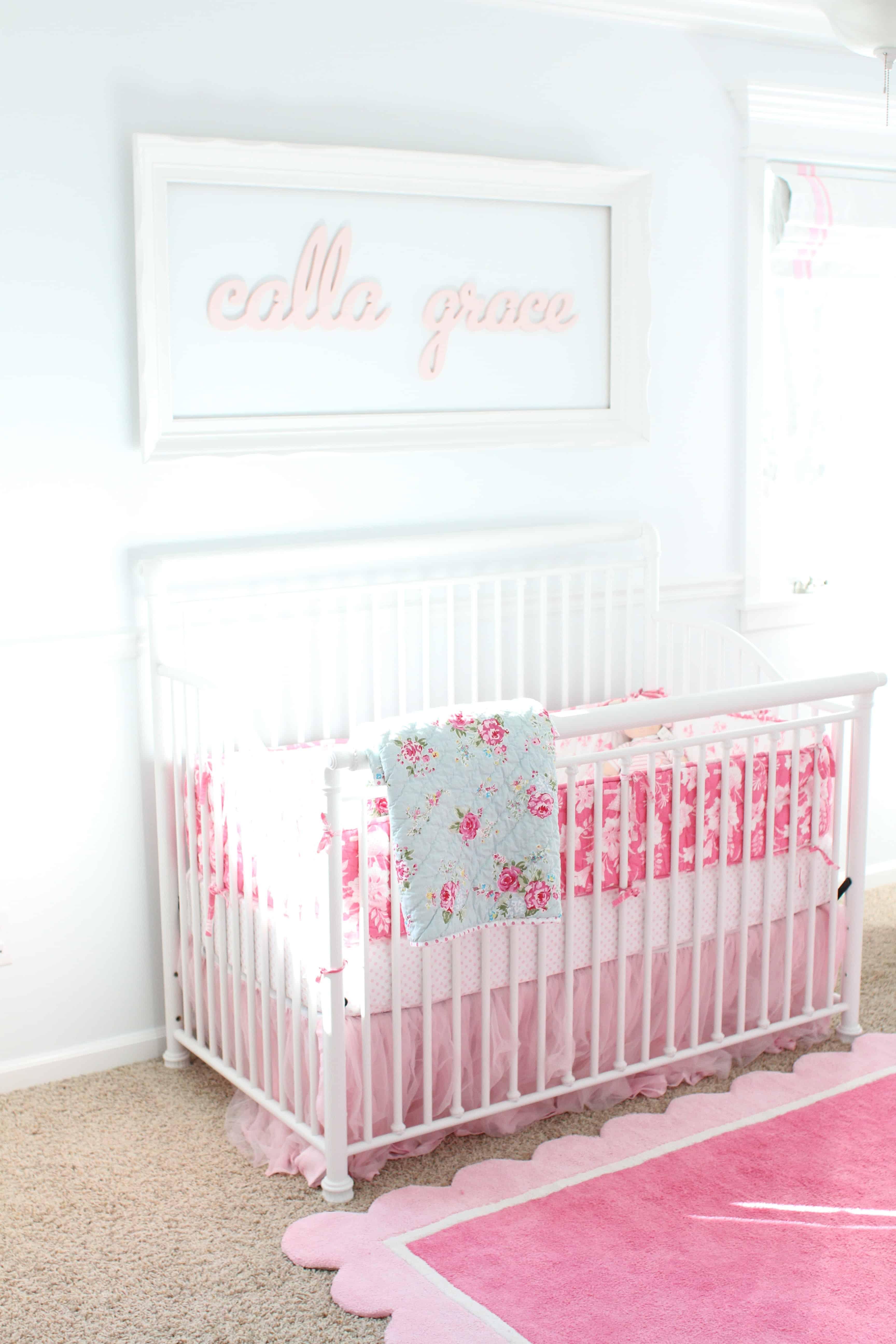 Soft And Sweet Baby Girl Nursery I Can Teach My Child