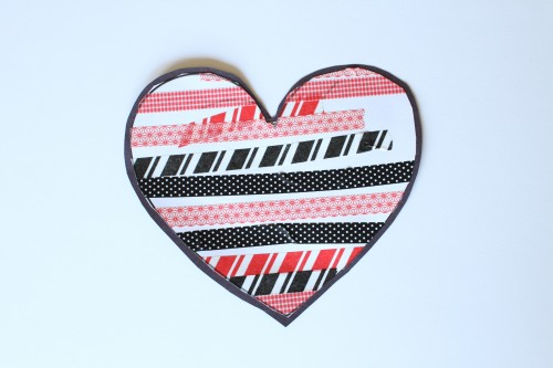 IMG 5451 500x333 Simple Washi Tape Hearts