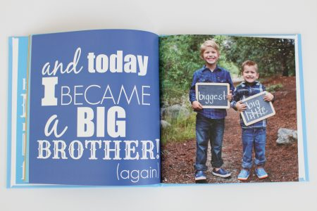 big brother gift big sister gift - photo book
