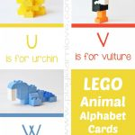LEGO Animal Kids Alphabet Cards at B Inspired Mama 150x150 Show and Share Saturday Link Up!