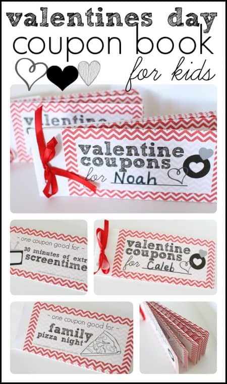 Printable Valentines Day Coupon Book For Kids  I Can Teach My Child