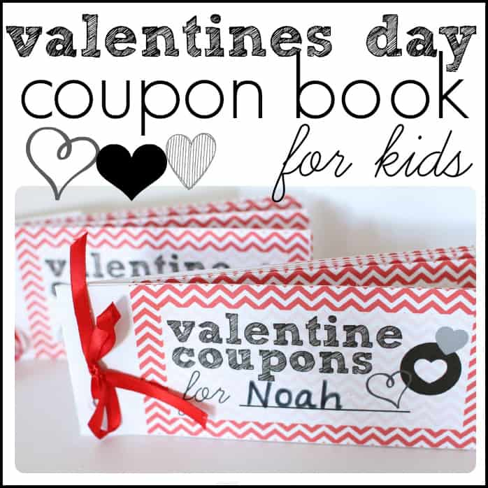Valentines Day Coupon Book For Kids - I Can Teach My Child!