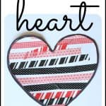 Simple Washi Tape Hearts
