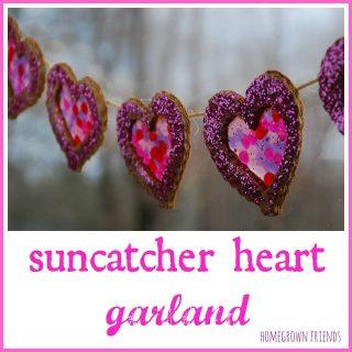 Suncatcher Heart Garland