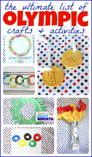 The Ultimate List of Olympic Crafts and Activities for Kids 300x511 Show and Share Saturday Link Up!