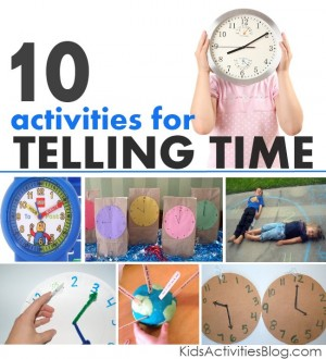 telling time 300x330 Show and Share Saturday Link Up!