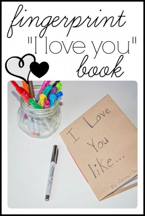 Fingerprint book 300x444 Fingerprint I Love You Book