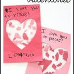 I Love You to Pieces Valentines 150x150 Numbered Heart Game with Dice