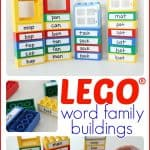 Word Family Lego Buildings