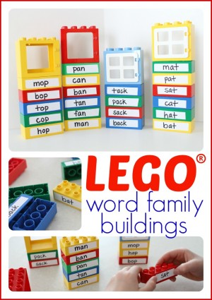 LEGO Word Family Buildings
