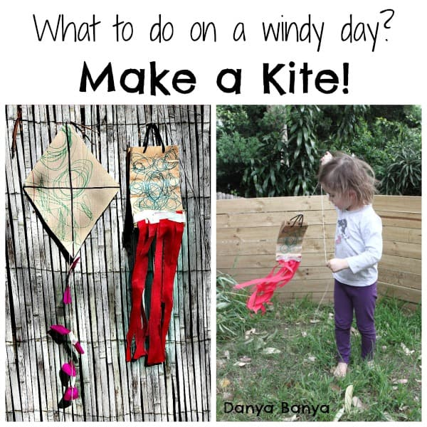 Kid Made Kite Craft For A Windy Day I Can Teach My Child