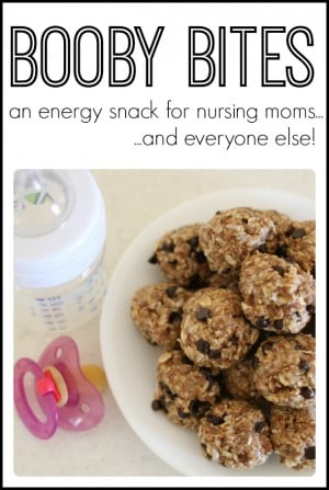 Booby Bites- an energy snack for new moms and everyone else