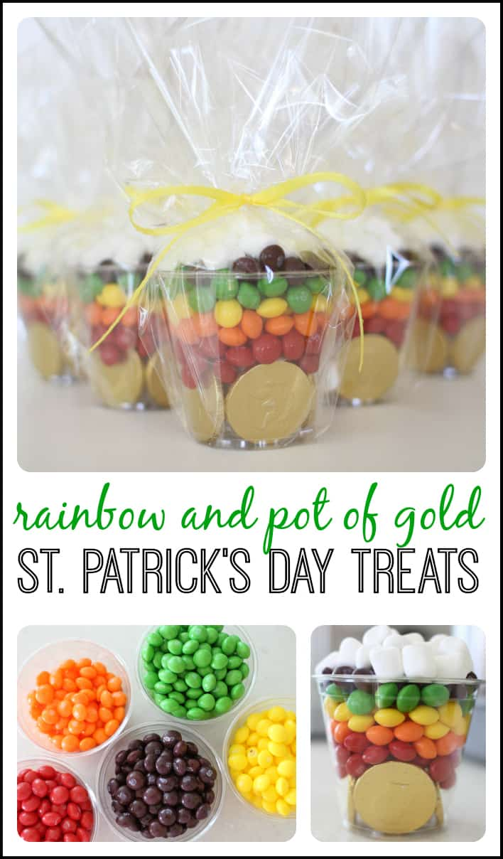 Rainbow Pot of Gold Treat - I Can Teach My Child!