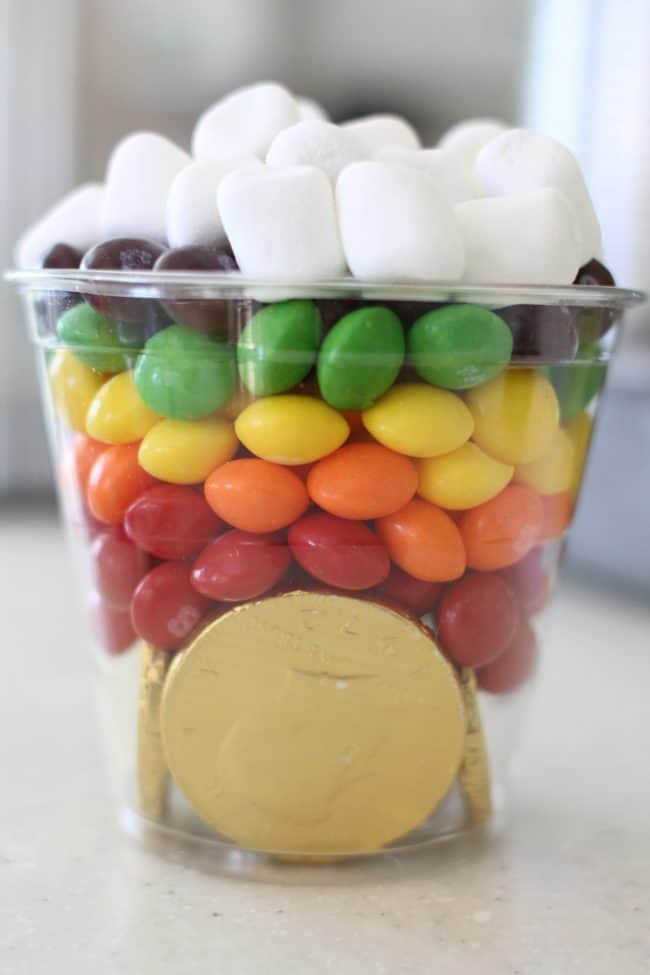 rainbow pot of gold for kids
