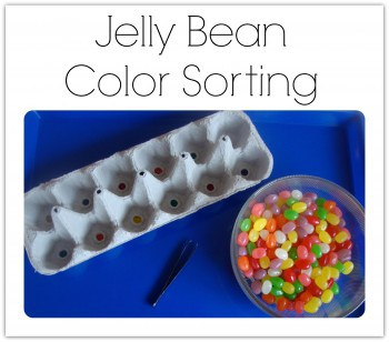 Jelly Bean Color Sorting