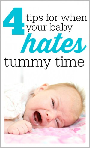 4 tips for when your baby hates tummy time 300x493 4 Tips for When Your Baby HATES Tummy Time