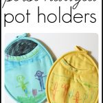 Personalized Pot Holders...great gift idea for Mothers Day  150x150 Mothers Day Gift Idea #2: Personalized Candle