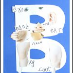 B is for Body Alphabet Craft