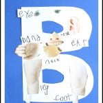 Alphabet Craft:  B is for Body