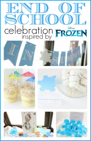 End of School Celebration inspired by Olaf 300x466 Frozen inspired End Of School Celebration
