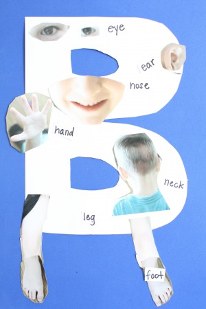 IMG 7968 300x450 Alphabet Craft:  B is for Body
