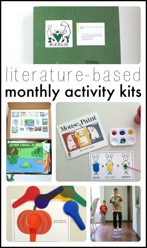 Ivy Kids  Literature-Based Monthly Activity Kits
