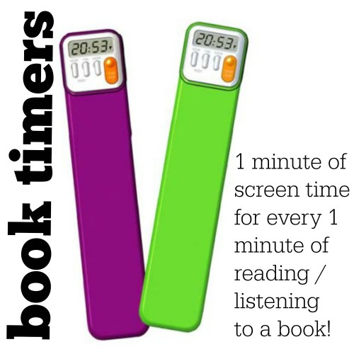book timers 500x500 Printable Summer Schedule for Your Refrigerator (just add magnets)