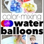 Color Mixing with Water Balloons 150x150 Colors