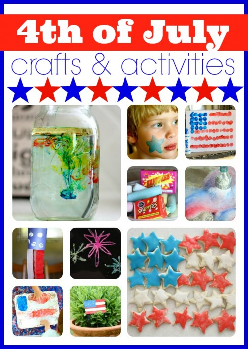 Fourth of July Crafts Activities1 500x704 Show and Share Saturday Link Up!