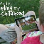 The iPad is stealing my son's childhood