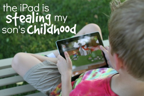 Thoughts on the affects of technology on kids