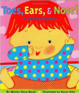 Toes Ears and Nose Books about the Human Body