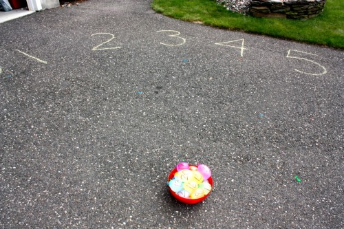 Water Balloon Number Match