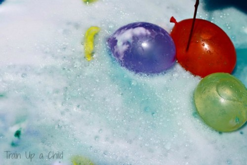 Water Balloon Science 500x333 12 Ways to Learn with Water Balloons