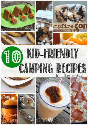 10 Camping Recipes for Kids 300x428 Show and Share Saturday Link Up!