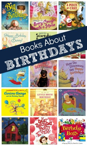 Books About Birthdays 300x500 Show and Share Saturday Link Up!
