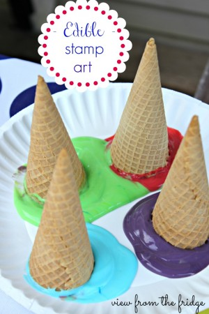 Edible Stamp Art